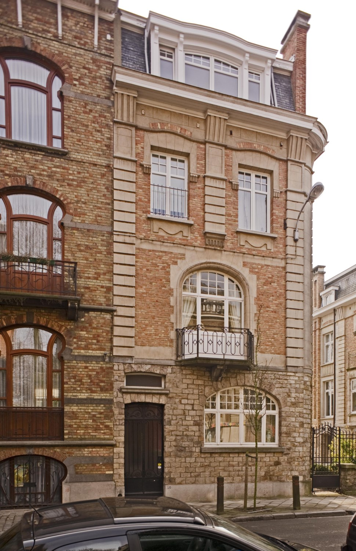 Rue du Bourgmestre 20, façade vers la rue©  , 2011