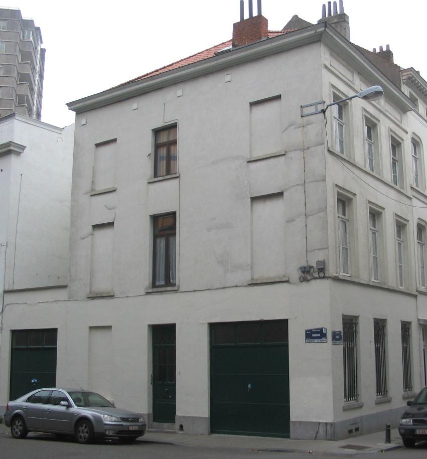 Rue Caroly 28 et rue Fleurus 1, 2007