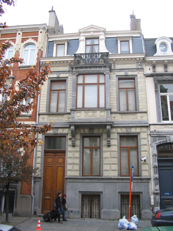 Rue du Châtelain 30., 2005