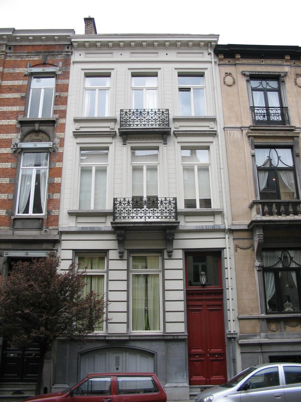 Rue du Châtelain 33., 2005