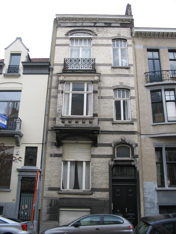 Rue du Châtelain 67., 2005