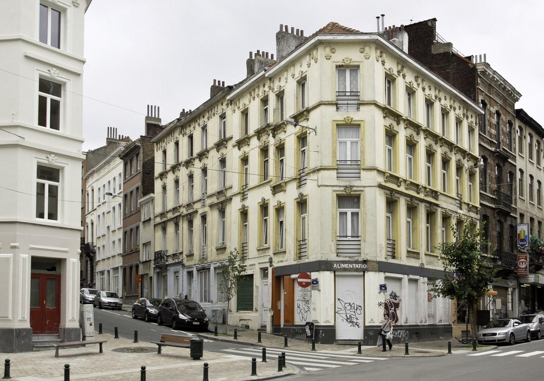 Rue du Collège 174-176-178-180 – rue Malibran 34-34a-34b© (Françoise Waltéry © MRBC - MBHG), 2011