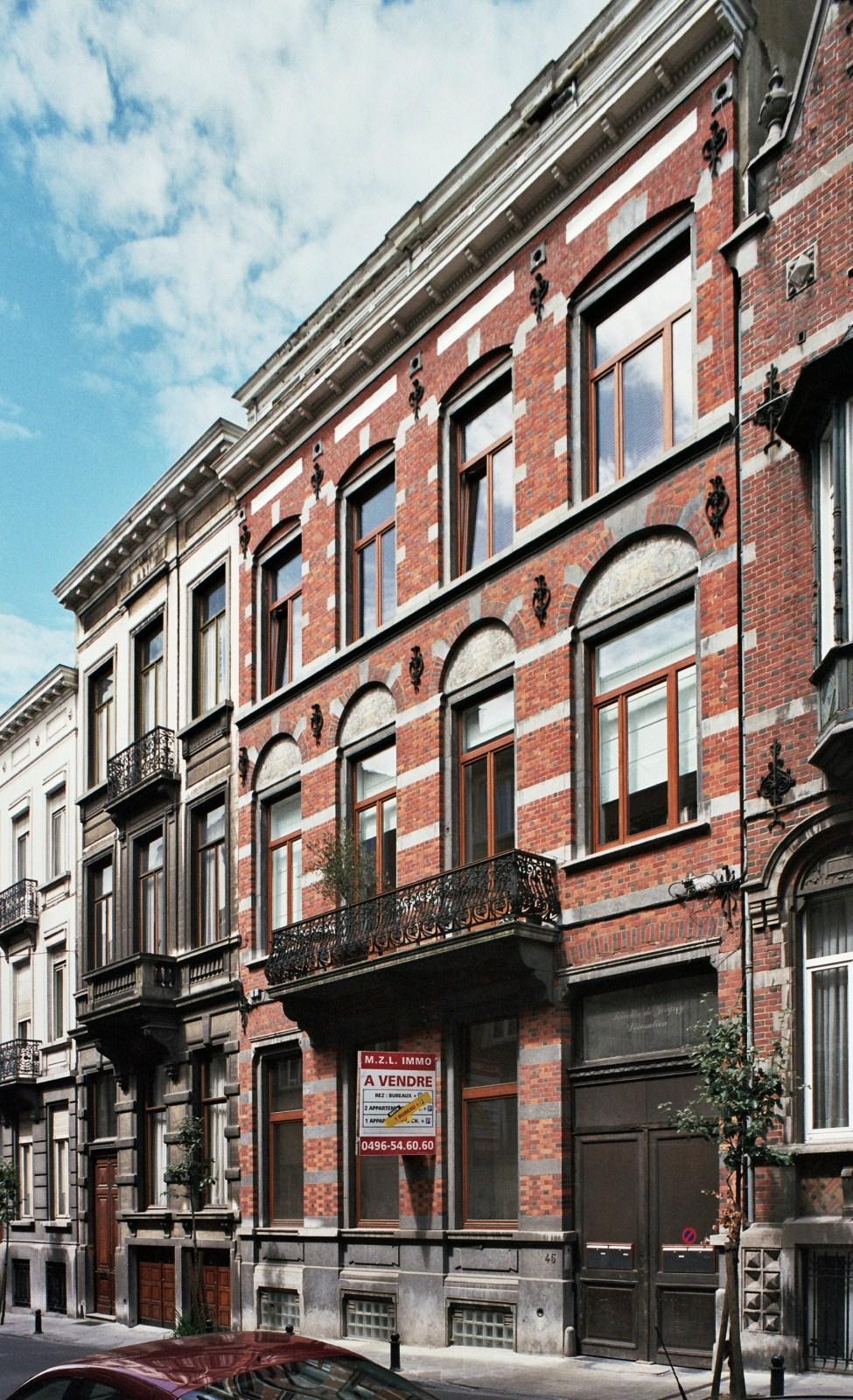 Rue de la Concorde 47 et 45., 2009