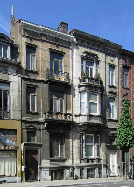 Avenue de la Couronne 59 et 57, 2011