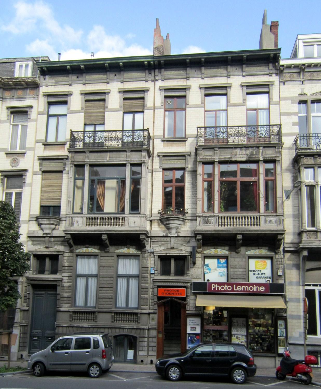 Avenue de la Couronne 84 et 86, 2011