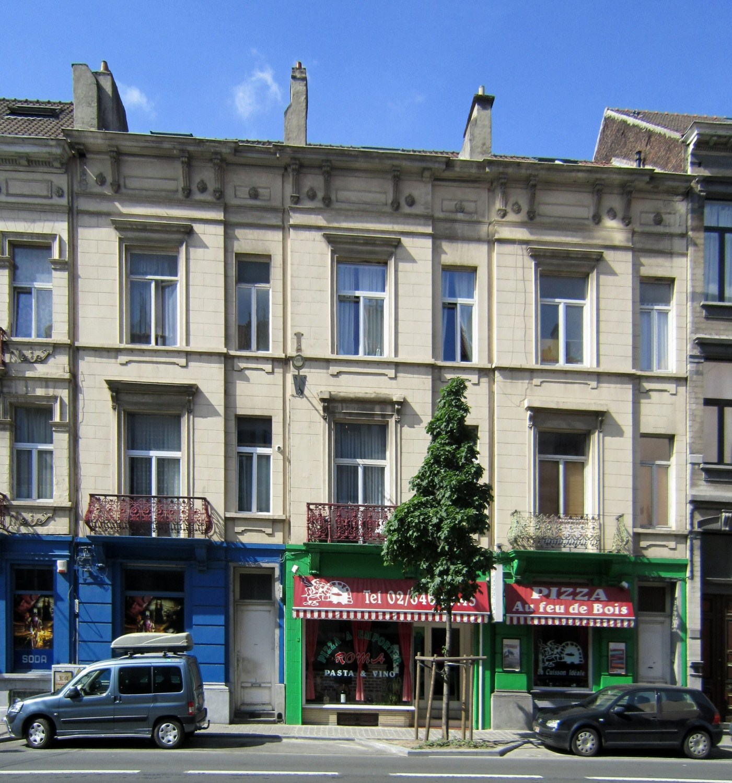 Avenue de la Couronne 139, 137 et 135, 2011