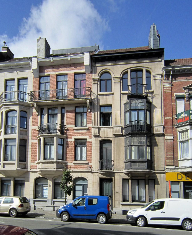 Avenue de la Couronne 247 et 245, 2011