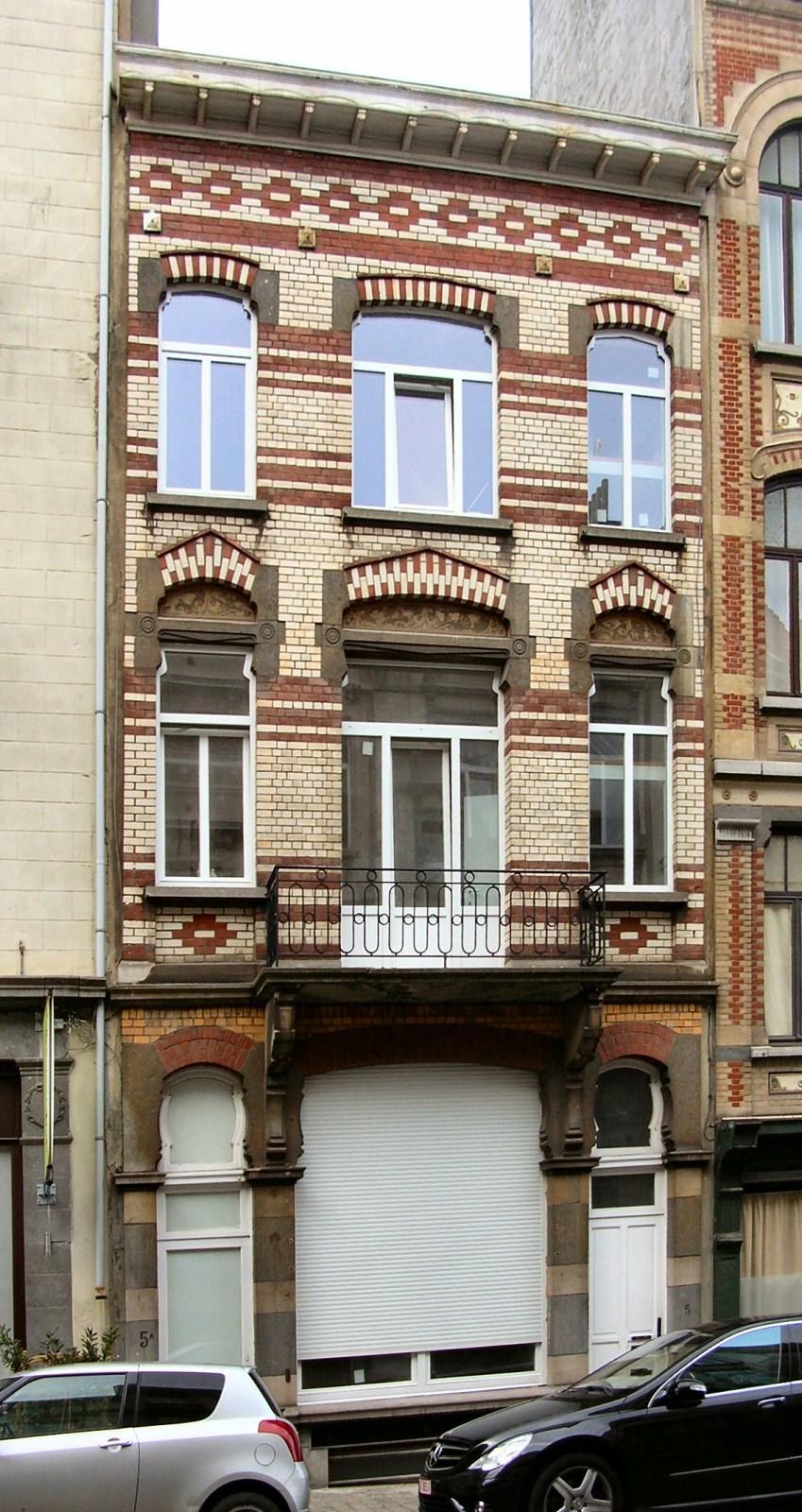 Dautzenbergstraat 5-5a., 2010
