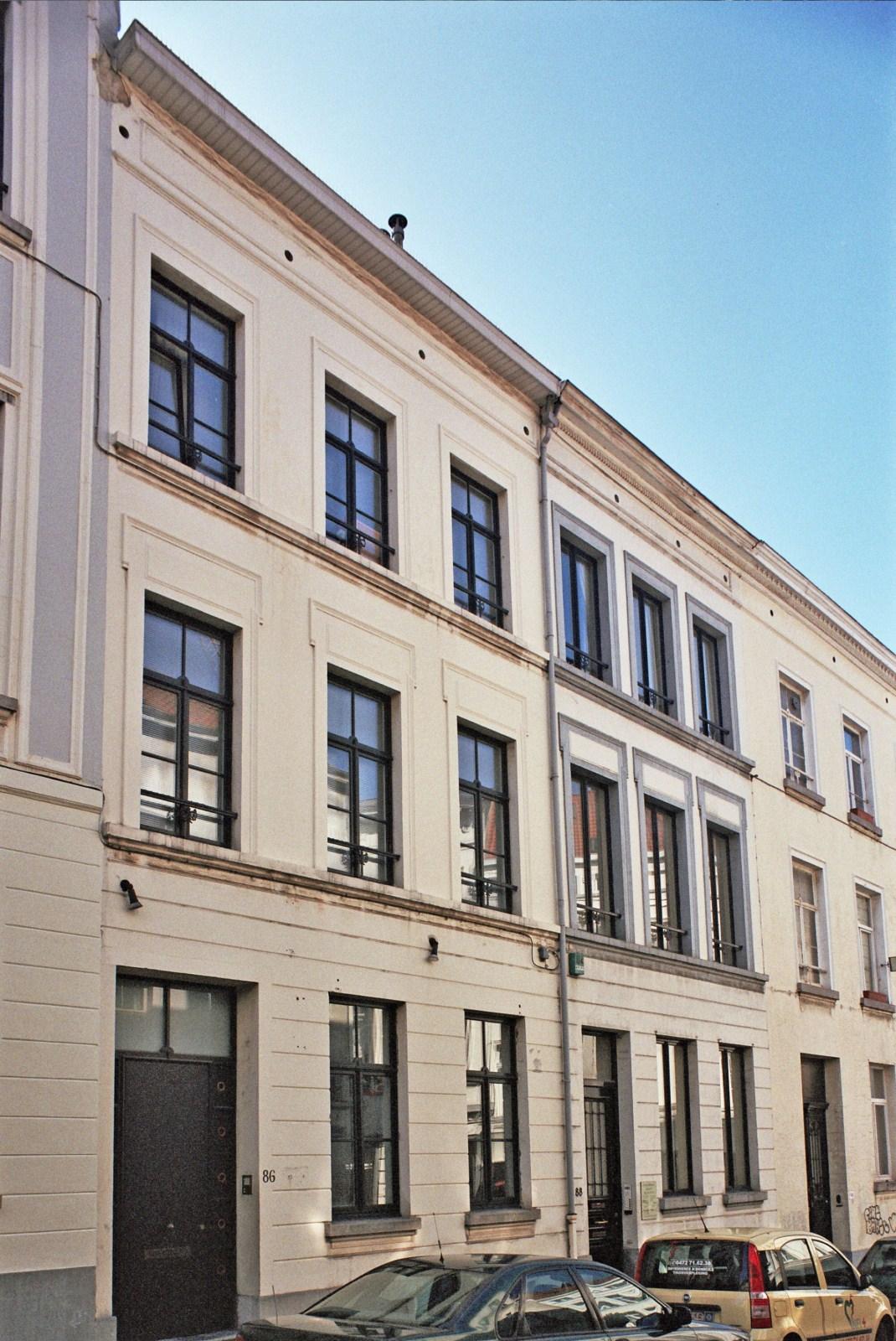 Rue de Stassart 86 et 88., 2009