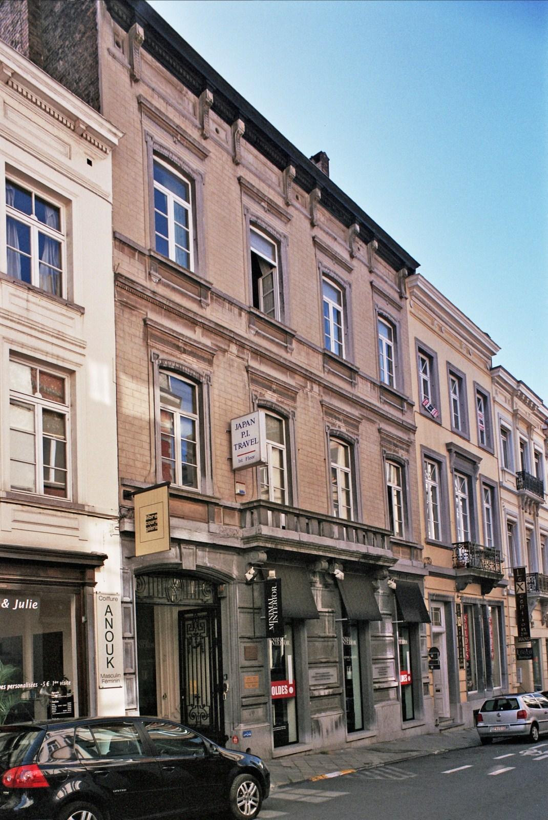 Rue de Stassart 100., 2009