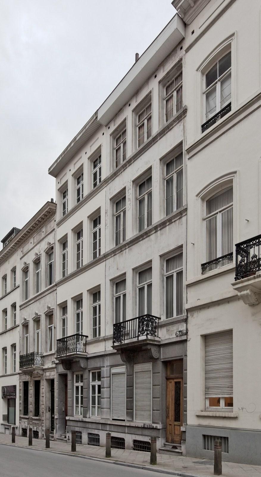 Rue de Stassart 105 et 103.© 2009 © bepictures / BRUNETTA V. – EBERLIN M.