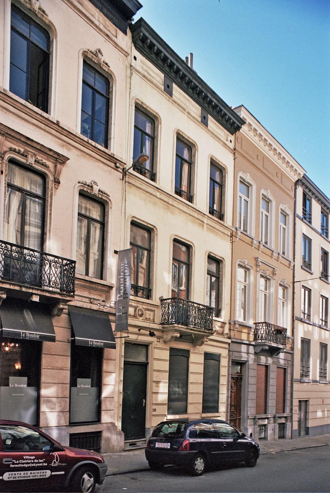 Rue de Stassart 118., 2009