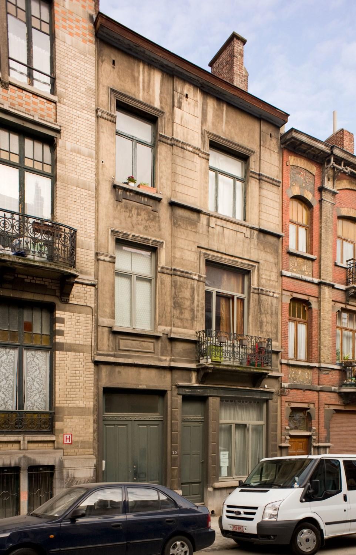 Rue de Theux 75, 2012