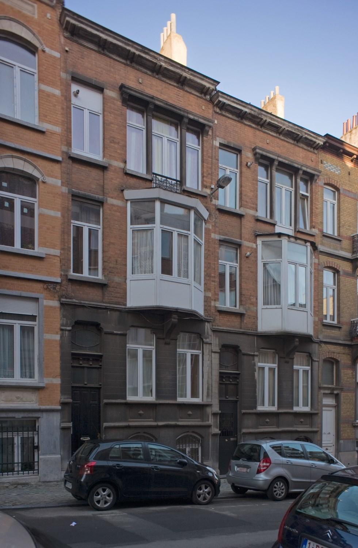 Rue de Theux 137 et 135, 2012