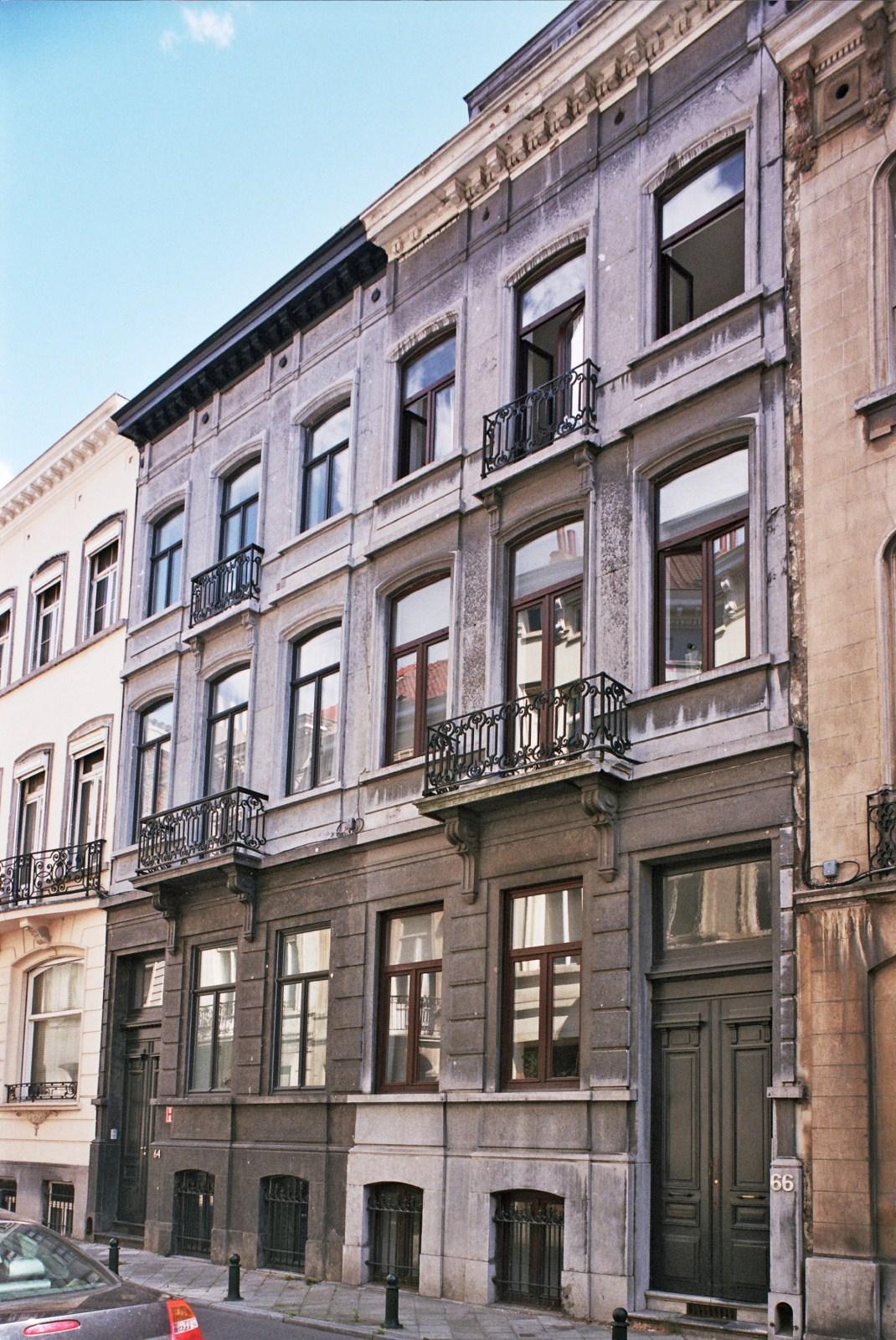 Rue des Drapiers 64 et 66., 2009
