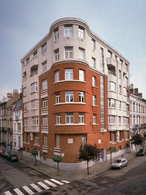 Rue Émile Bouilliot 2–rue Emmanuel Van Driessche 1.© photo Bastin & Évrard © MRBC