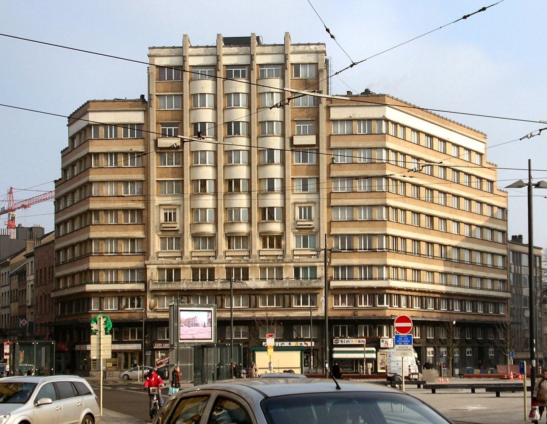 Place Eugène Flagey, Bloc Malibran ou Victory House, 2010
