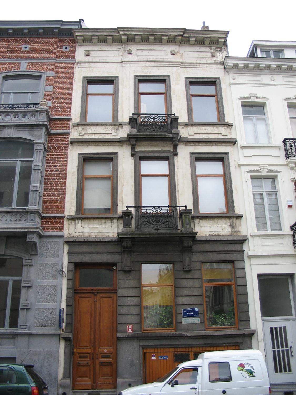 Rue Faider 27., 2005