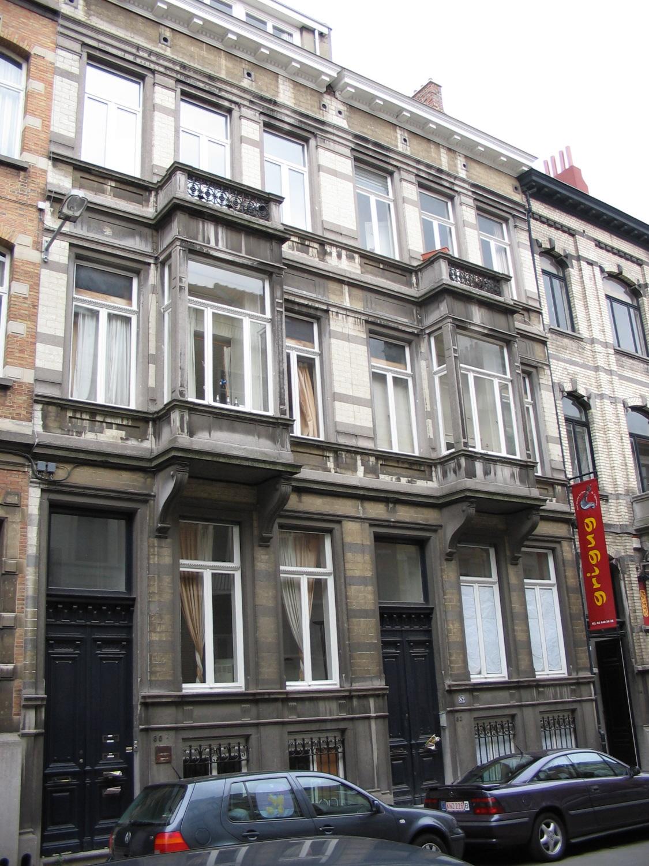 Rue Faider 80 et 82., 2005