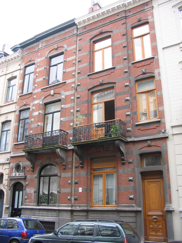 Rue Faider 105 et 103., 2005