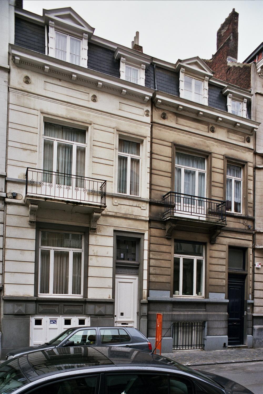Rue Faider 111 et 109., 2006