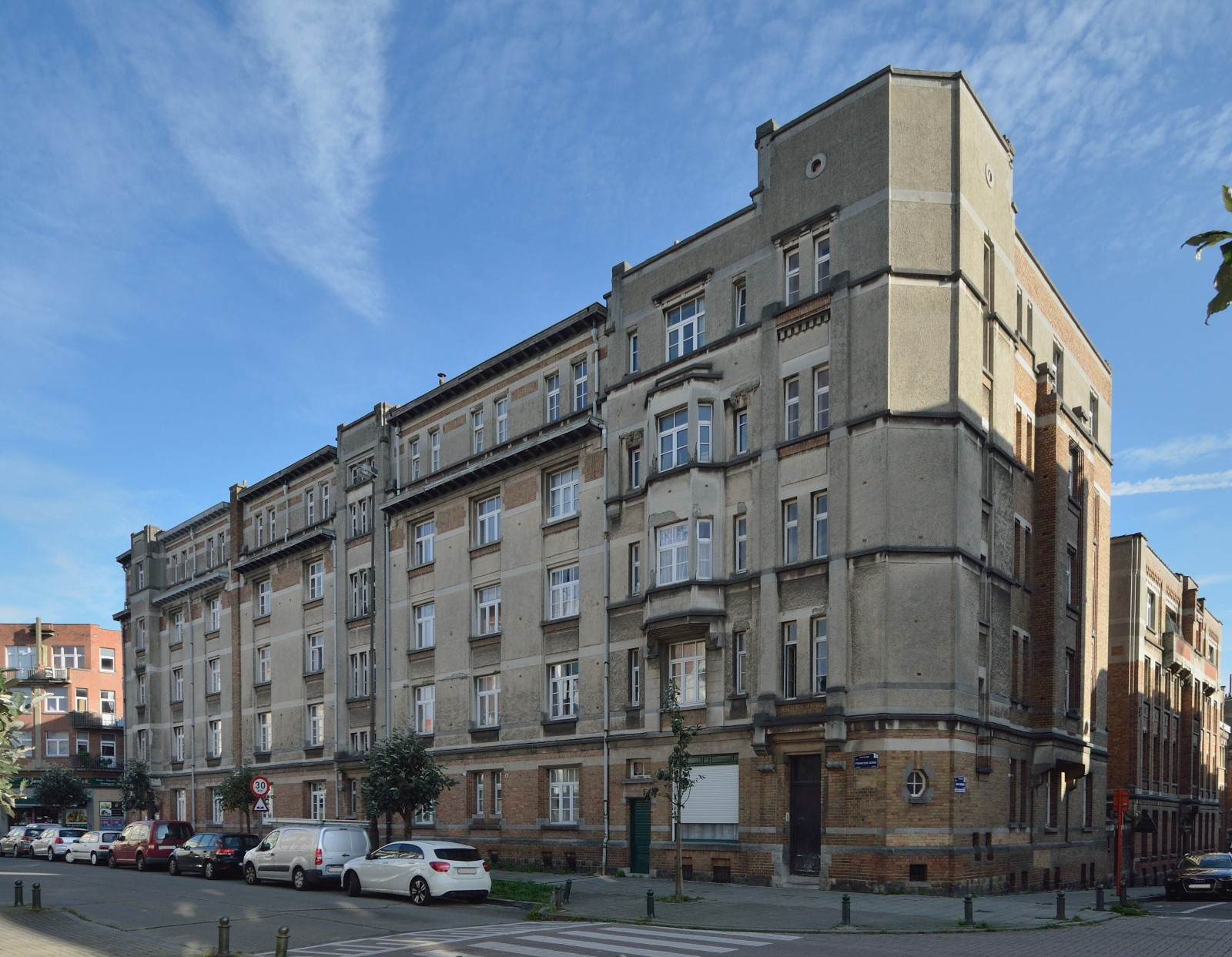 Rue François Dons 2 à 8, complexe d'immeubles de logements sociaux, 2014