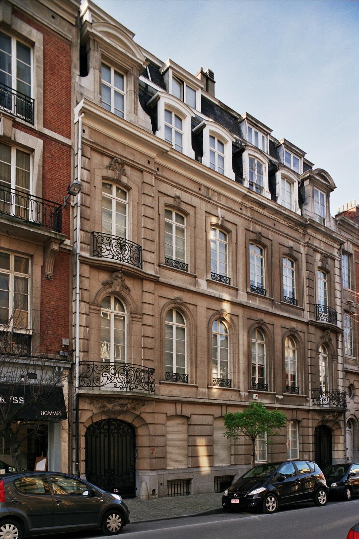 Rue Franz Merjay 159 et 157., 2006