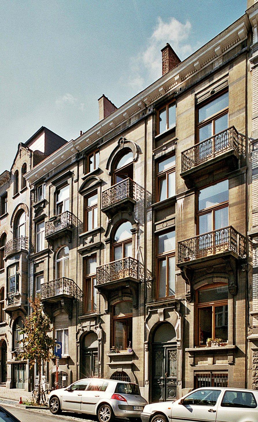 Rue Gachard 9 à 13., 2009