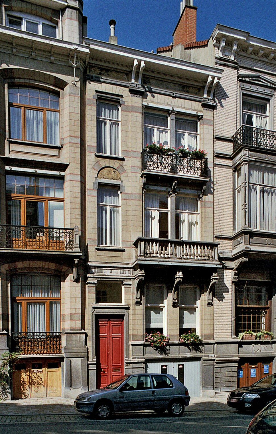 Rue Gachard 45., 2009