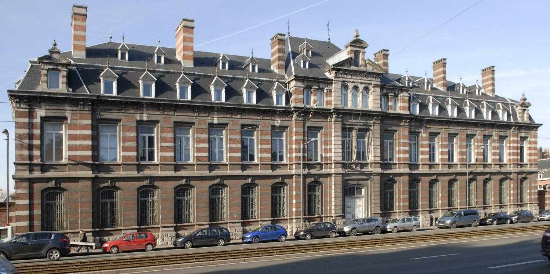 Boulevard Général Jacques 210, ancienne école royale de gendarmerie d'Ixelles, bâtiment principal, 2013