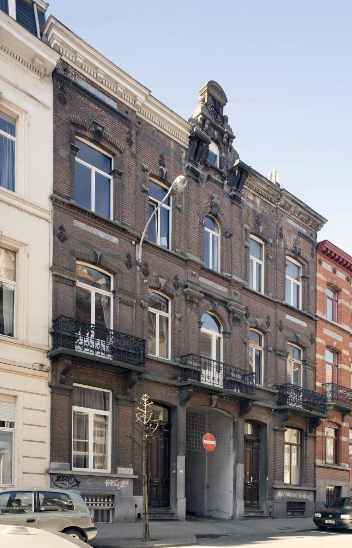 Rue Goffart 103a à 101, 2011