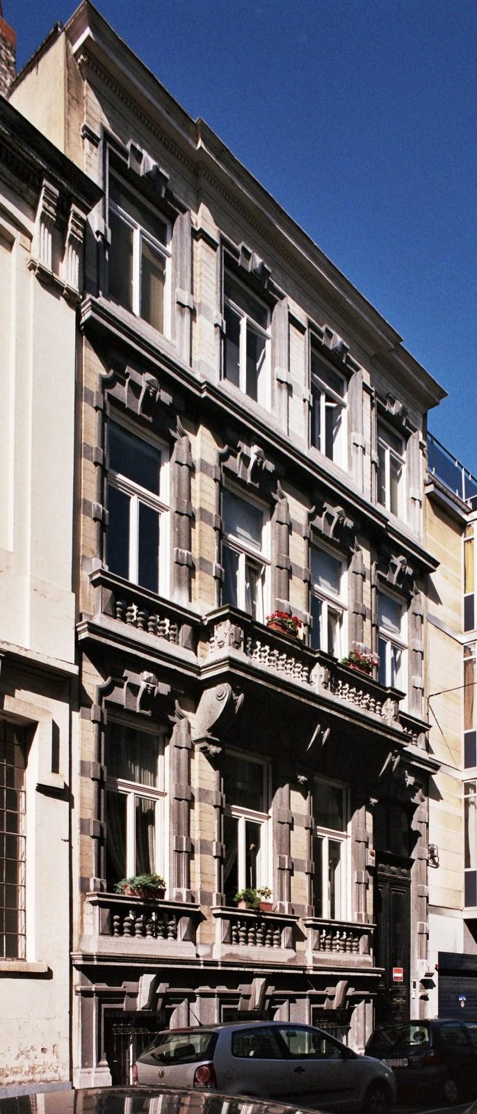 Rue Isidore Verheyden 13., 2009