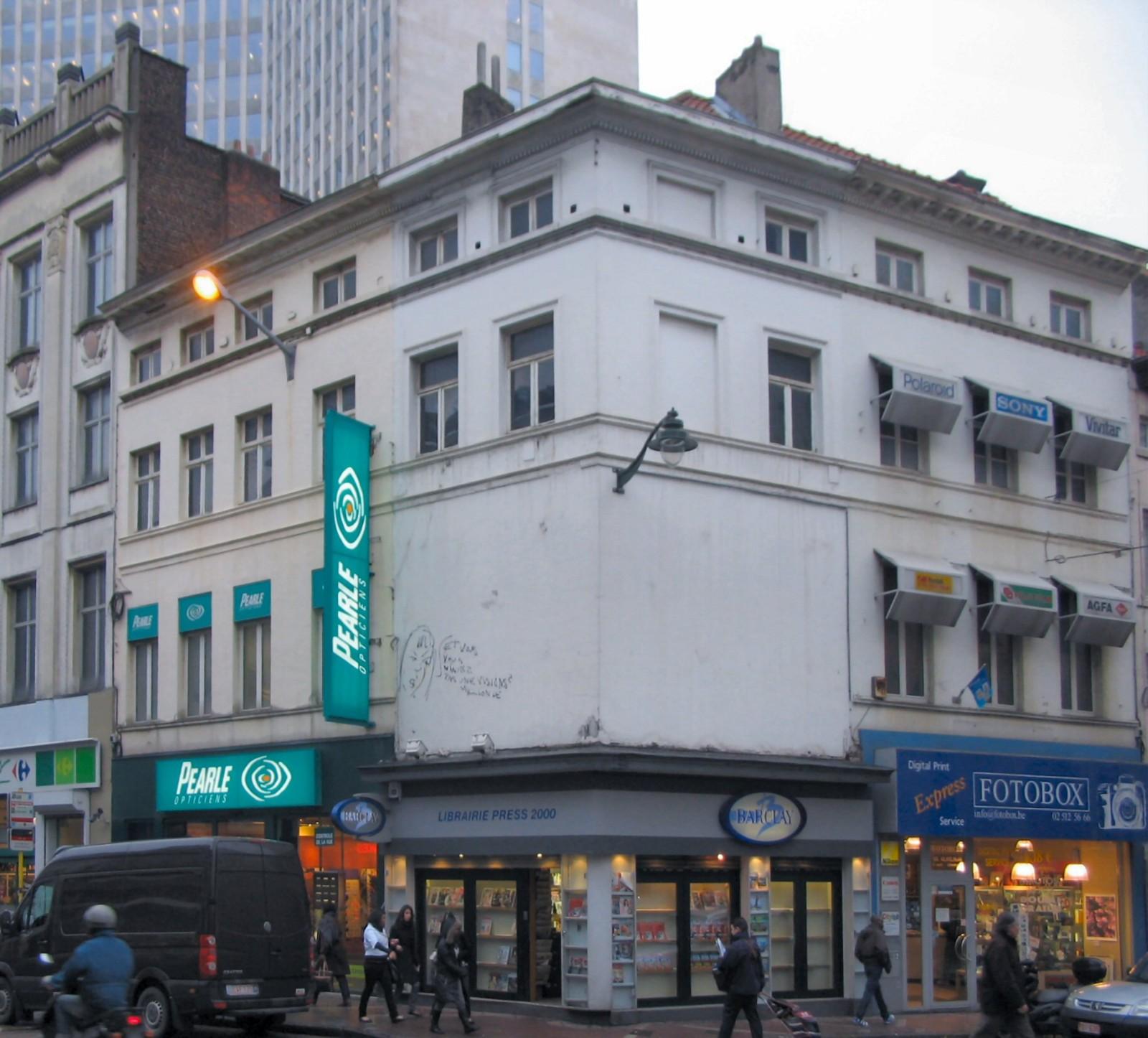 Chaussée d\'Ixelles 18, 20 et Chaussée de Wavre 2-4 , 2010