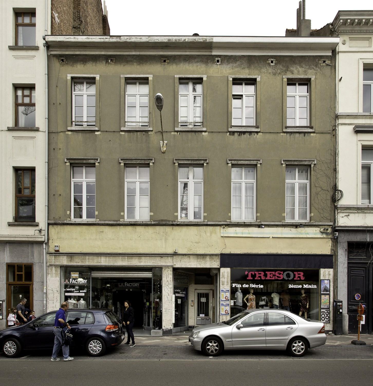 Chaussée d'Ixelles 140-142© (Françoise Waltéry © MRBC - MBHG), 2011