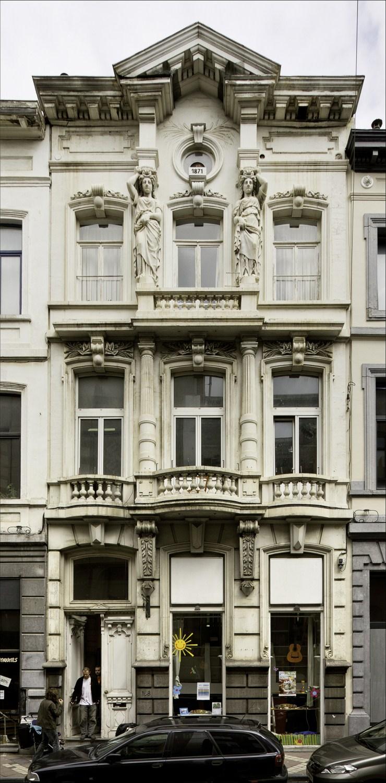 Chaussée d'Ixelles 188© (Françoise Waltéry © MRBC - MBHG), 2011