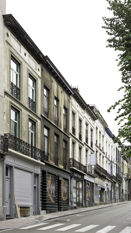 Chaussée d'Ixelles 293 à 281© (Françoise Waltéry © MRBC - MBHG), 2011