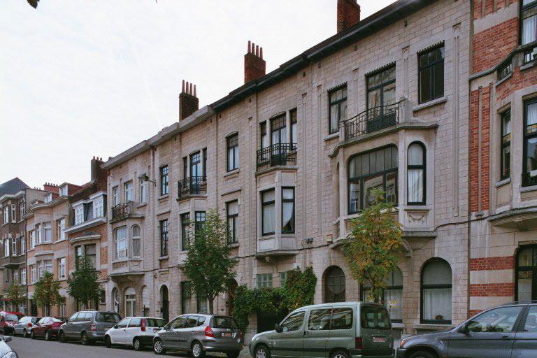 Rue Jean-Baptiste Colyns 102, 104, 106 et 108., 2006