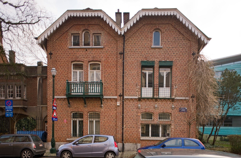 Avenue Jeanne 58 et 60, façades à rue, 2012