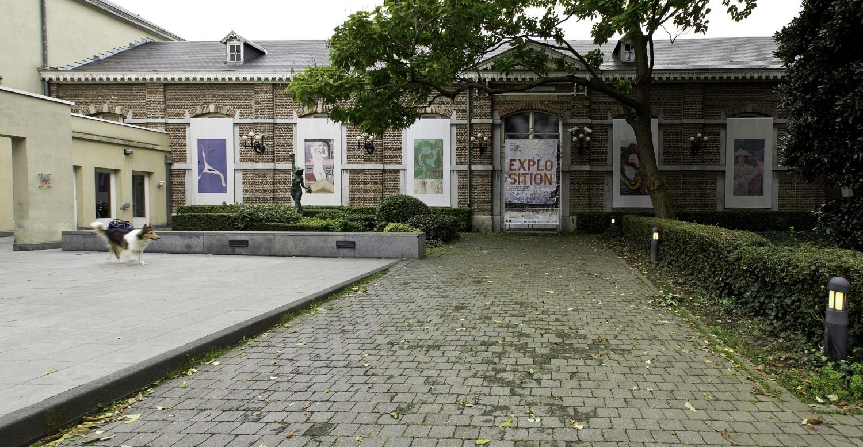 Ancien abattoir d'Ixelles, aujourd'hui Musée d'Ixelles, bâtiment principal© (Françoise Waltéry © MRBC - MBHG), 2011