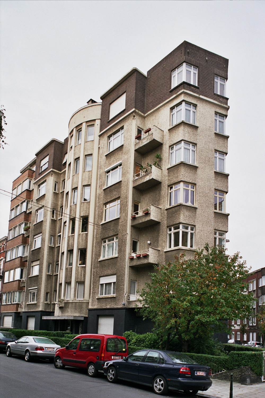 Rue Jules Lejeune 1, façade vers cette rue., 2006