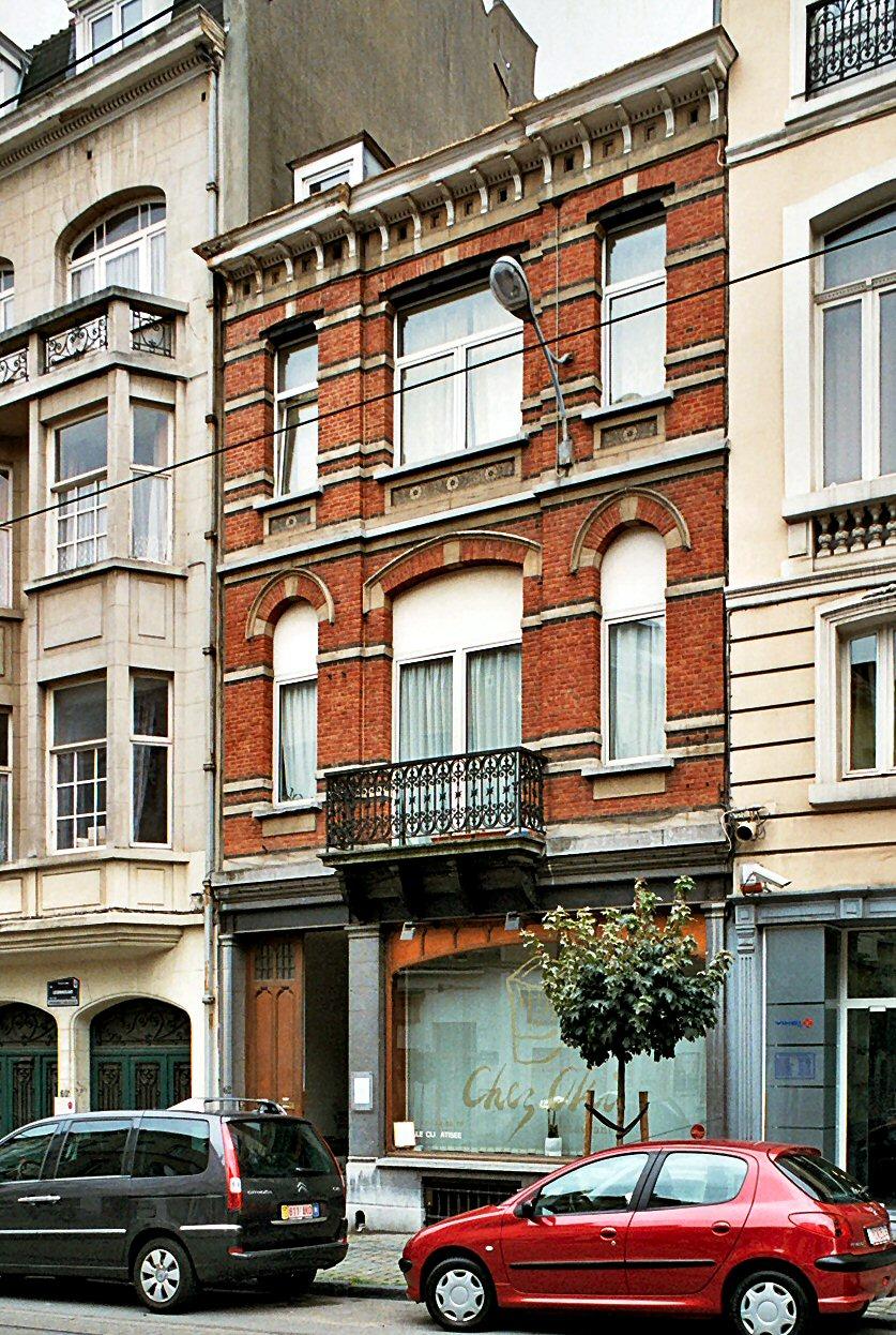 Rue Lesbroussart 62., 2009