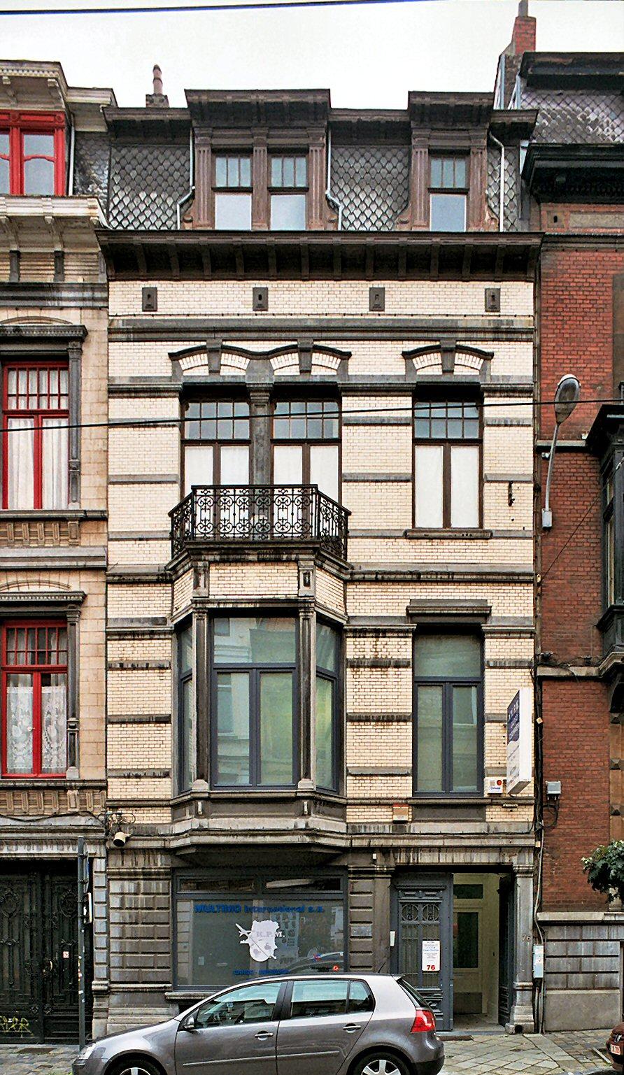 Rue Lesbroussart 76., 2009