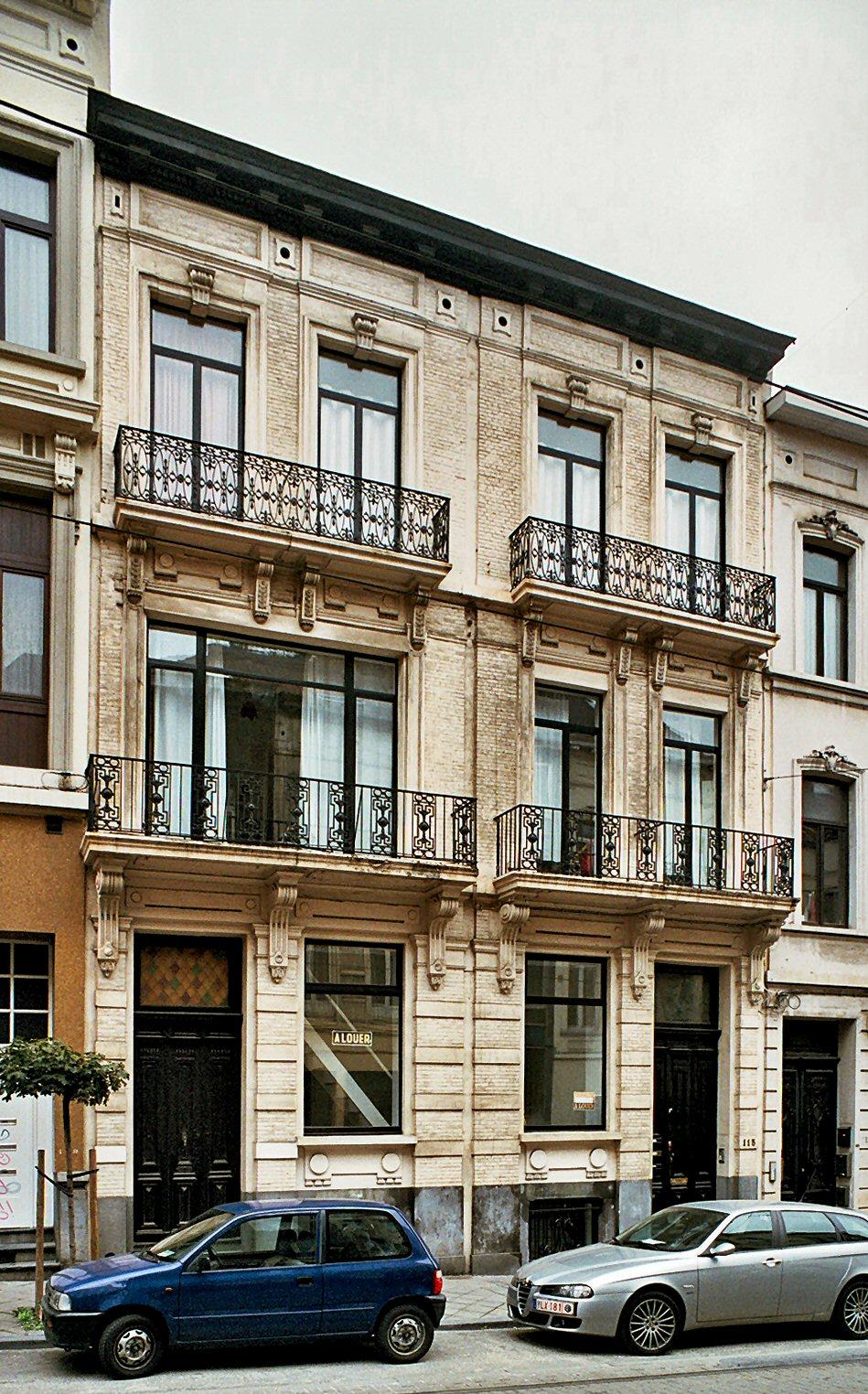 Rue Lesbroussart 117, 115., 2009