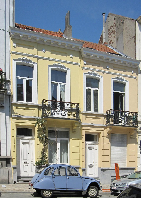 Rue Maes 48 et 50, 2011