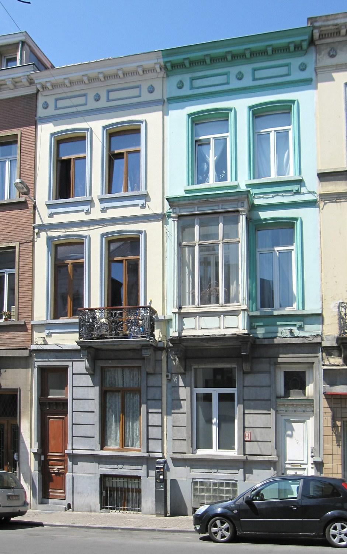 Rue Malibran 46 et 48, 2011