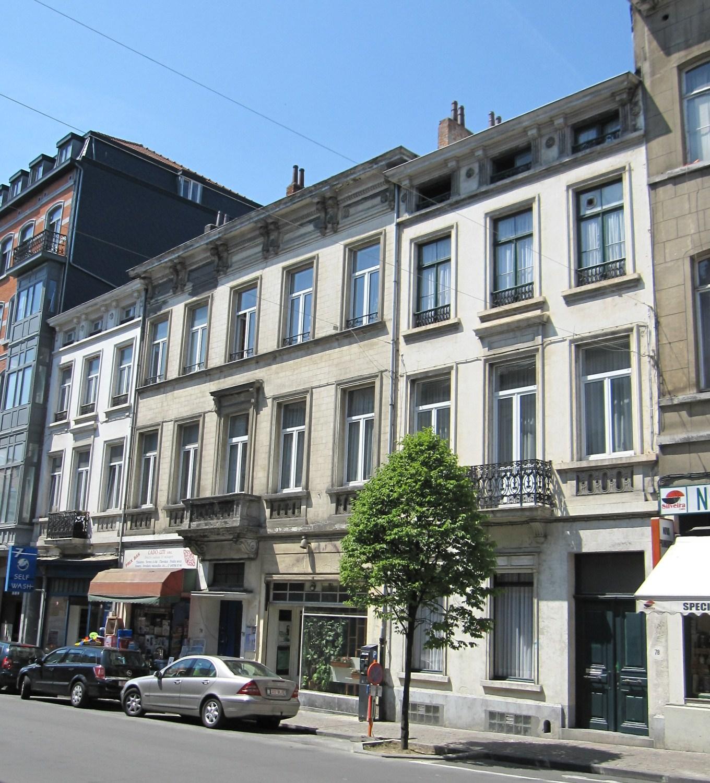 Rue Malibran 74, 76 et 78, 2011