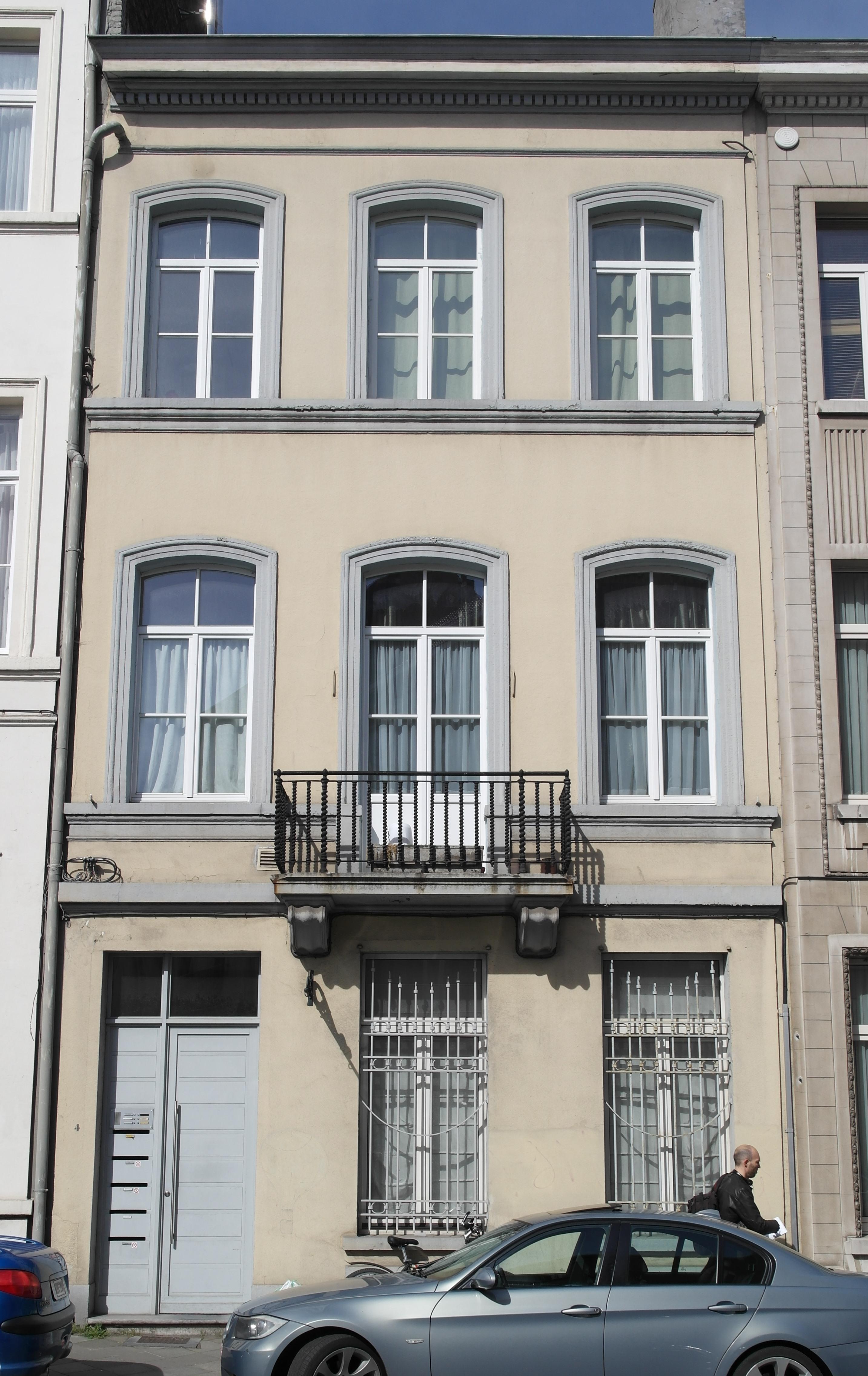 Rue Marie de Bourgondie 4, 2014
