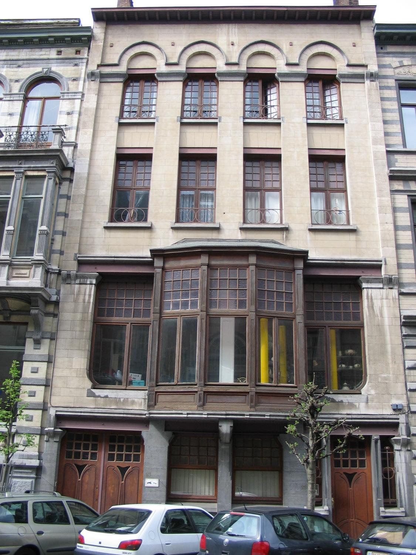 Rue Paul Émile Janson 25-23., 2006