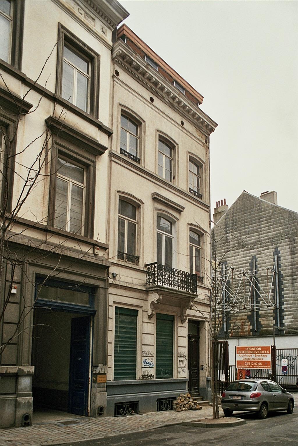 Rue du Prince Royal 17., 2009