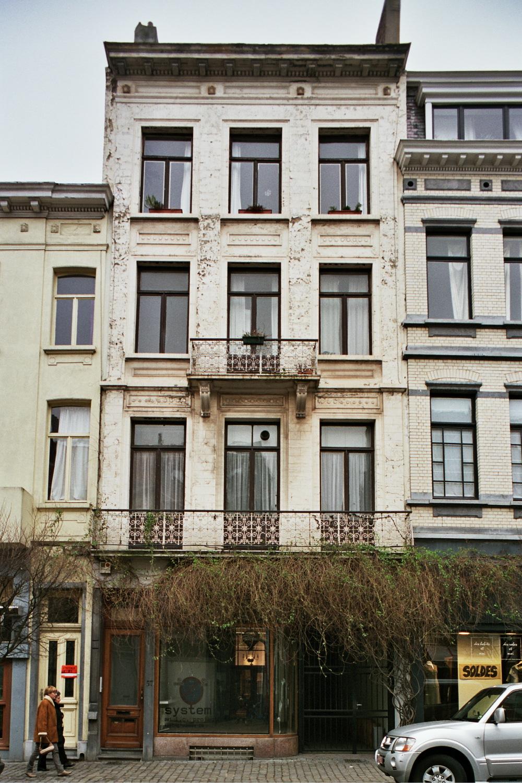Rue Simonis 57 et 55., 2006